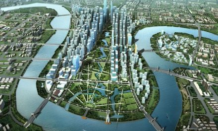 "Mega Theater for ""Manhattan of China"""
