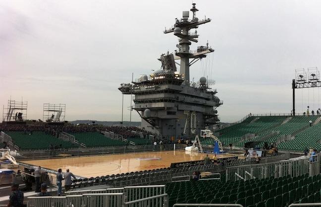 University Basketball on Floating Fortress