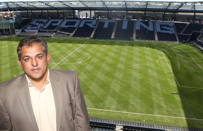 Q&A with Asim Pasha, Chief Innovation Officer for Sporting Kansas City (Kan.) F.C.