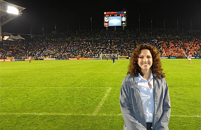 Home Depot Center Scores with Major League Soccer finals
