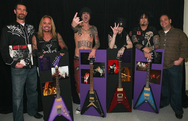 Motley Crue Takes Up Residence at The Joint