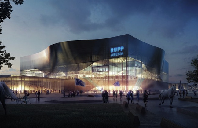 First Look: Rupp Arena, Lexington, Ky.