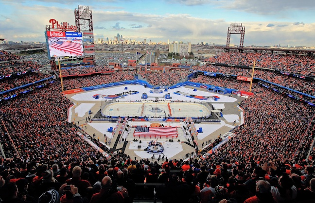On The Menu: 2012 Bridgestone NHL Winter Classic