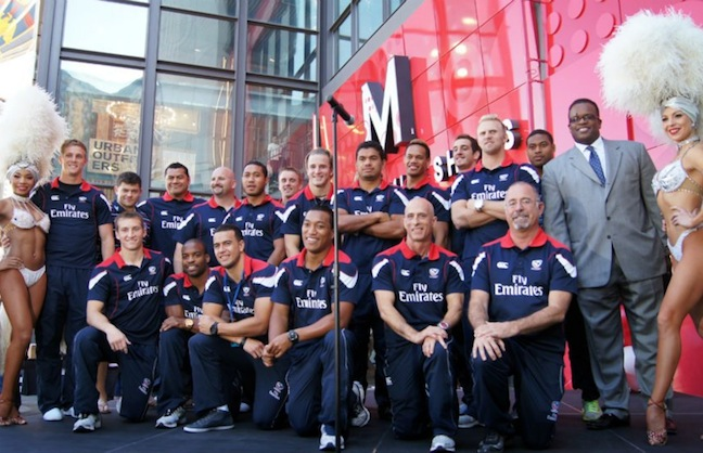 Rugby Sevens Knocks Down Sin City with $1.8 gross