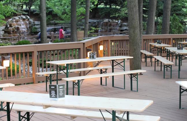 Beer Garden Opens for Venue Anniversary