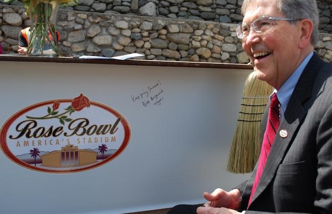 Rose Bowl Renovation Marks Milestone