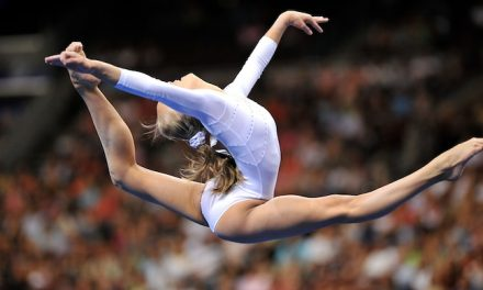 Olympic Gymnasts Hit Their Stride