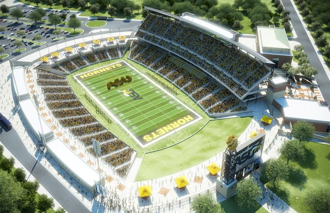 Alabama State Hornets Prepare for Stadium