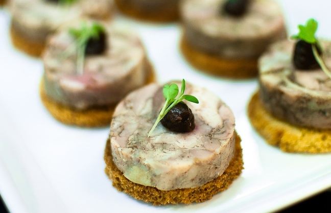 Canapés for a Cause