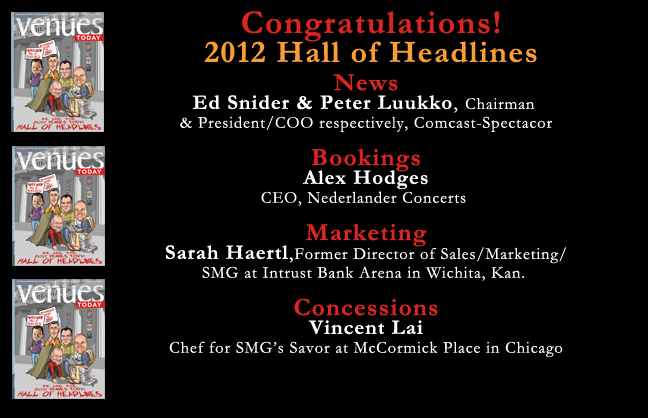 Congratulations 2012 Hall of Headlines Winners!
