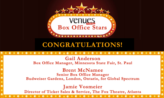 Congratulations Box Office Stars winners!