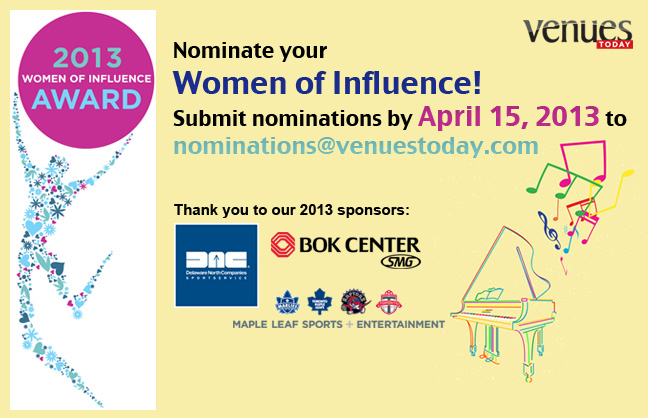 Nominate 2013 Women of Influence!