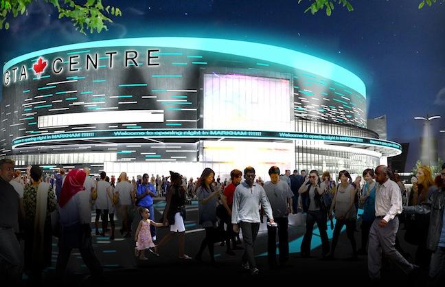 Markham Arena Gets Green Light