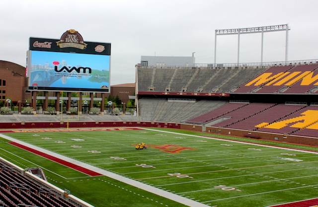 College Prepares To Host NFL Team