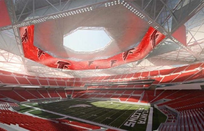 Designs For New Atlanta Stadium Released