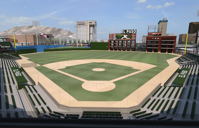 El Paso Breaks Ground on Triple-A Ballpark