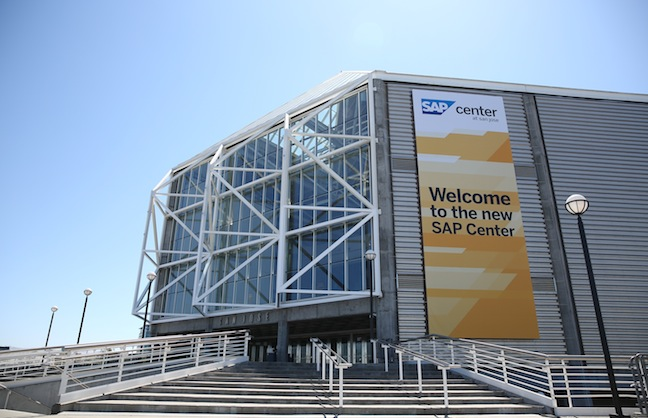 Naming Rights: SAP Center