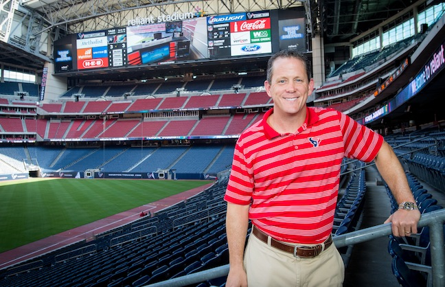 Houston Texans Unveil Video Boards