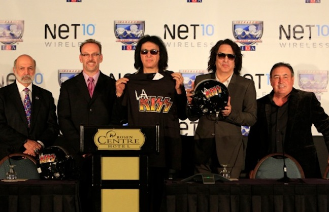 KISS Brings Arena Football Back to SoCal