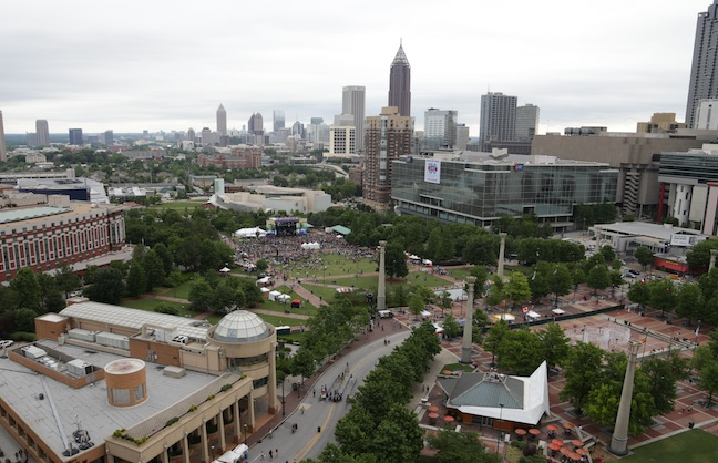 Centennial Olympic Park's Plans for Profits