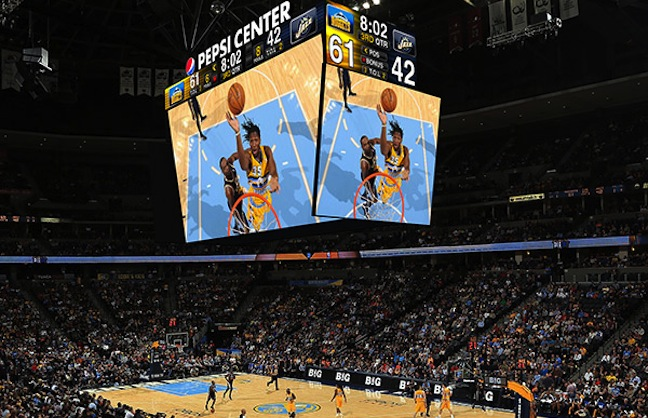 Pepsi Center Installs Tech Upgrades