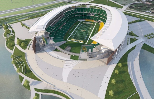 SMG to Manage Baylor Stadium