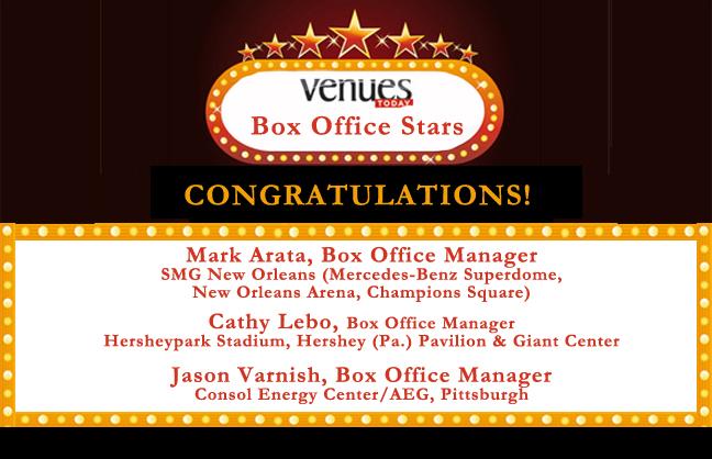Congratulations 2014 Box Office Stars winners!
