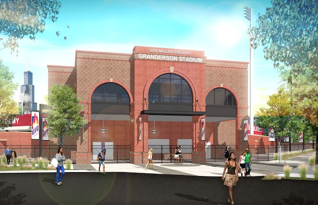 University of Illinois Opens Stadium