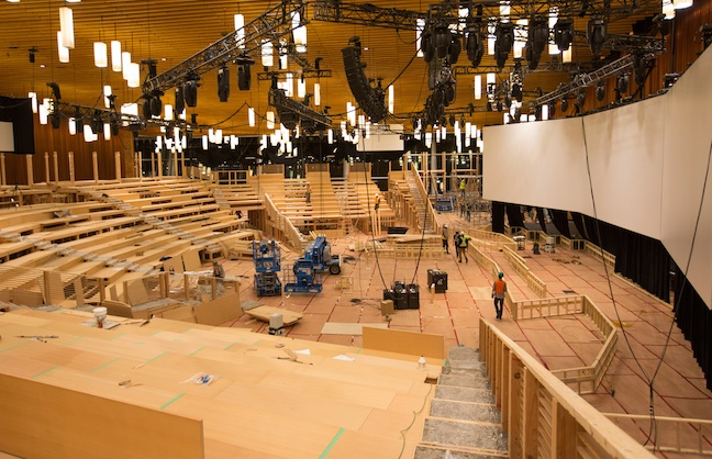 TED Constructs Theater Within Ballroom