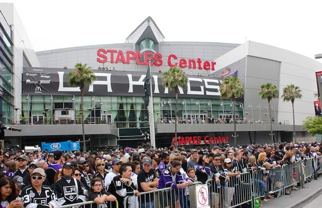 Staples Center's Long Finals Run