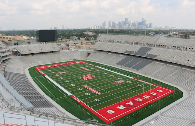 TDECU Gets Rights in Time for Stadium's Debut