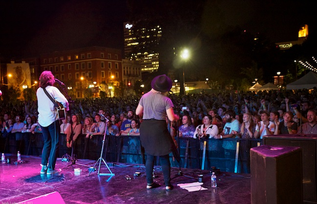 MidPoint Rocks And Revitalizes Cincinnati's Downtown