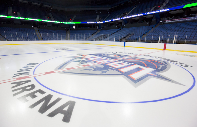 NHL Arena's Mission to Conserve Water