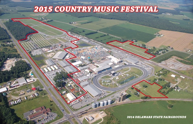 Delaware to Host Country Music Fest