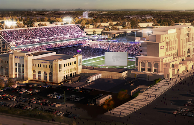 K-State Football Complex Breaks Ground