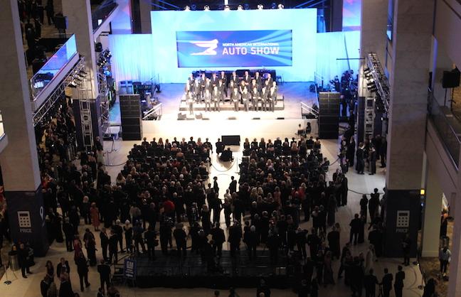 Convention Center Renovations Rev Up Auto Show