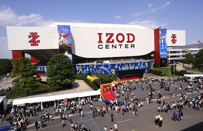Izod Center Abruptly Closed