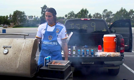 StubHub Center Guests Get Their Grills