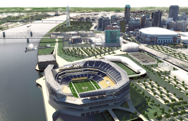 New Rams Stadium Planned