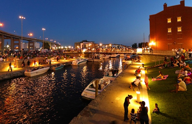 Canalside Becoming N.Y. Hot Spot