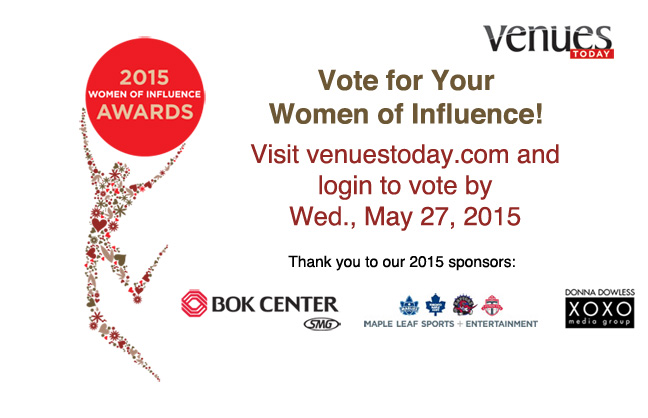 Vote for the 2015 Women of Influence Awards!
