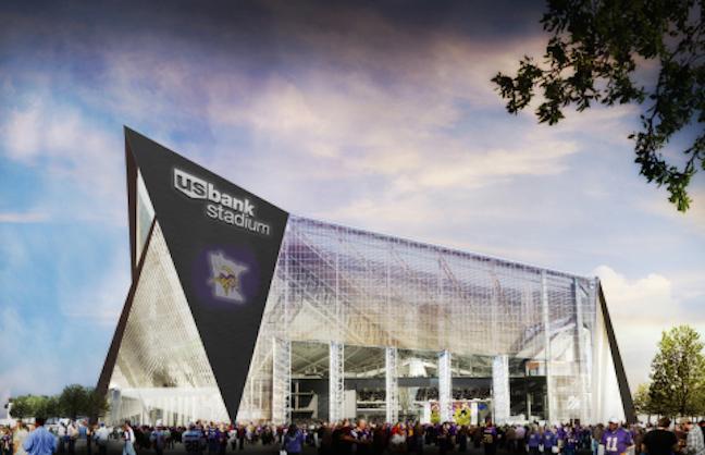 New Vikings Stadium Gets Naming Partner