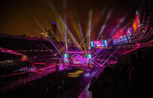 Soldier Field Hosts Grateful Dead Farewell Shows