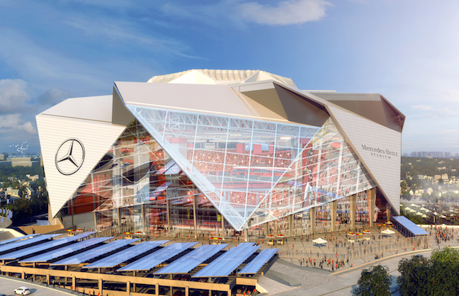 Mercedes-Benz Stadium to Open in 2017