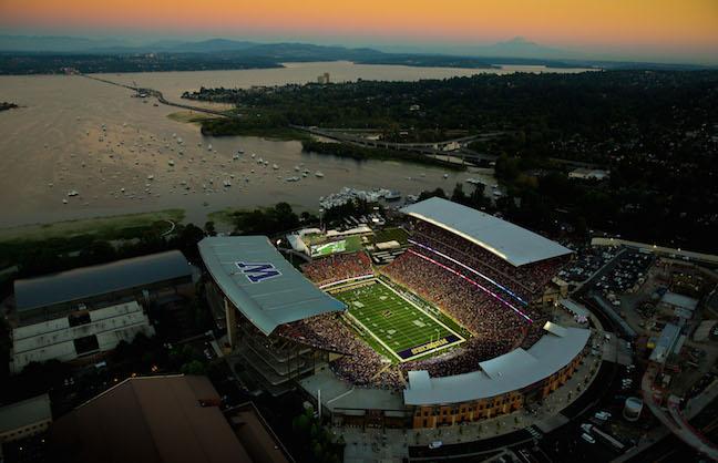 Husky Stadium Becomes Alaska Airlines Field