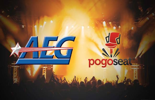AEG Partners with Pogoseat