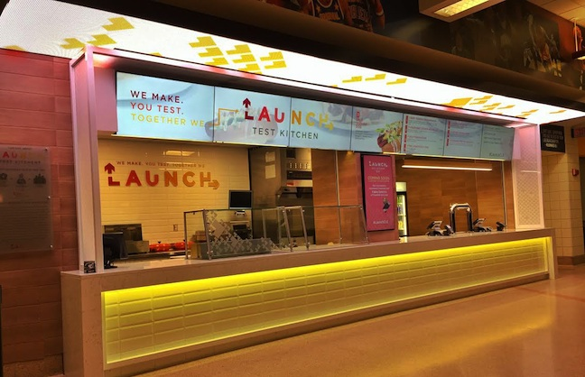 Aramark's Launch Test Kitchen Debuts
