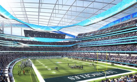 LA Rams Stadium Designed as a Destination