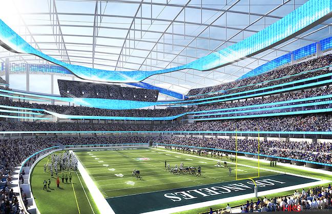 LA Rams Stadium Designed as a Destination