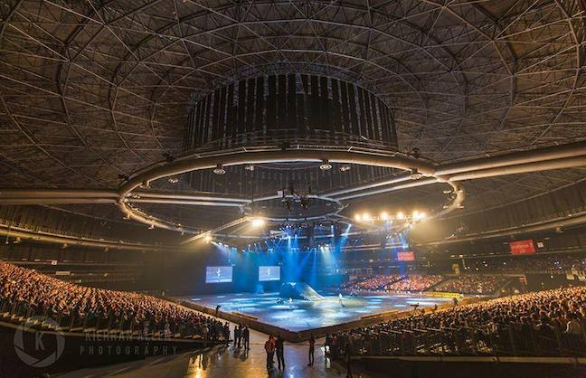 Johannesburg Venue Juts Out